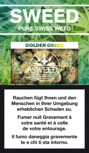 Sweed Golden Green Hanfblüten ohne THC