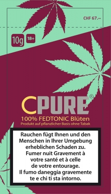 CPure Fedtonic Cannabisblüten ohne THC