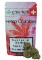 Greeners Crumbles Cannabisblüten ohne THC