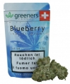 Greeners Blueberry Indoor Cannabisblüten ohne THC