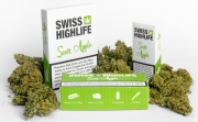 Swiss Highlife Sour Apple CBD Hanfblüten ohne THC